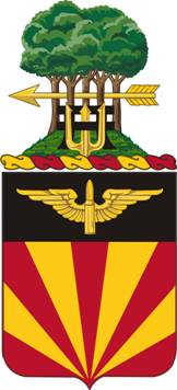 Coat of arms (crest) of the 56th Air Defense Artillery Regiment, US Army