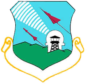Coat of arms (crest) of the 9th Air Division - Defense, US Air Force