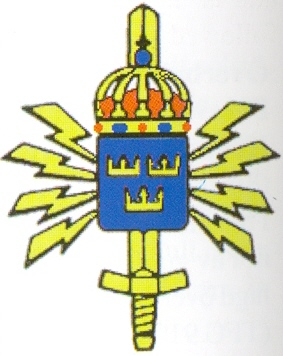 Coat of arms (crest) of the Defence Radio Center, Sweden