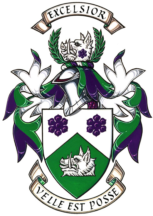 Coat of arms (crest) of Hillfield Strathallan College