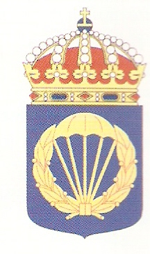 Coat of arms (crest) of the Parachute Jaeger School, Swedish Army