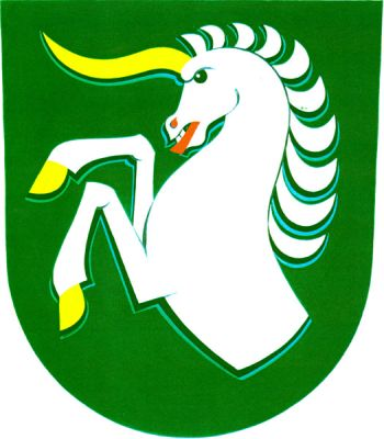 Arms (crest) of Radslavice (Přerov)