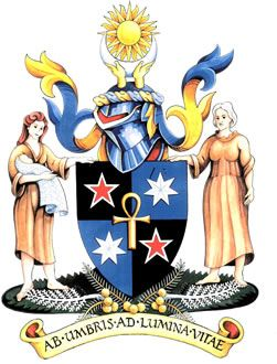 Arms of Royal Australian and New Zealand College of Obstetricians and Gynaecologists