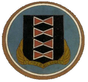 Coat of arms (crest) of the 484th Bombardment Group, USAAF