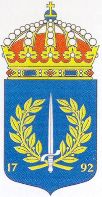 Coat of arms (crest) of the Military Academy Karlberg, Sweden
