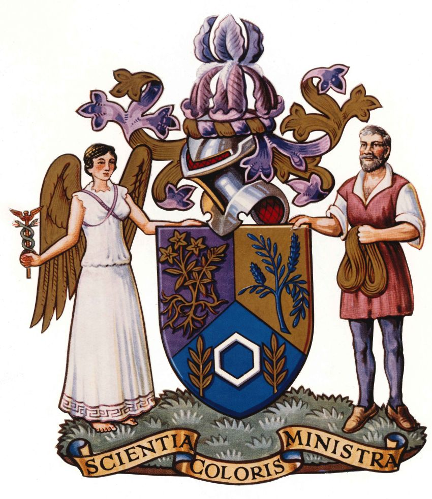 Arms of Society of Dyers and Colourists