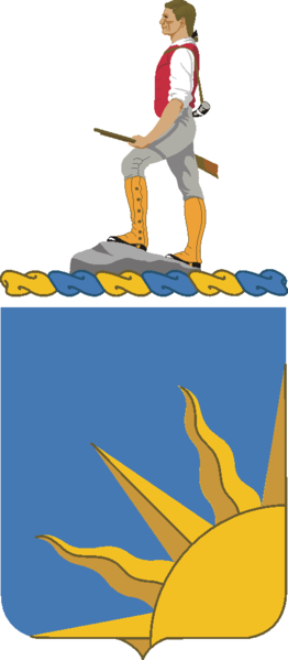 Coat of arms (crest) of the 389th (Infantry) Regiment, US Army