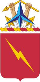 Coat of arms (crest) of the 73rd Field Artillery Regiment, US Army