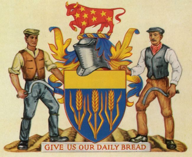 Arms of Worshipful Company of Farmers