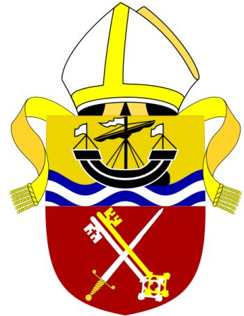 Arms (crest) of Diocese of Portsmouth (anglican)
