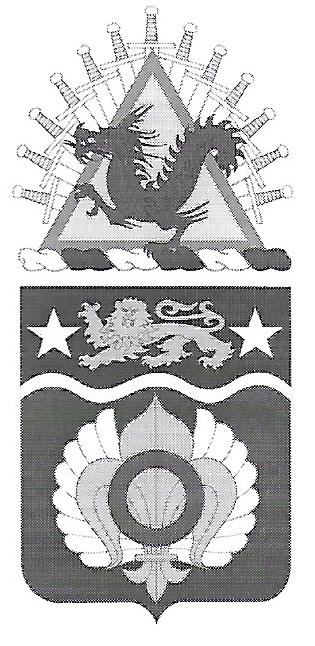 Arms of 14th Transportation Battalion, US Army