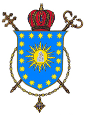 Arms (crest) of the Archeparchy of Ternopil-Zboriv
