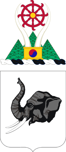 Coat of arms (crest) of the 64th Armor Regiment, US Army
