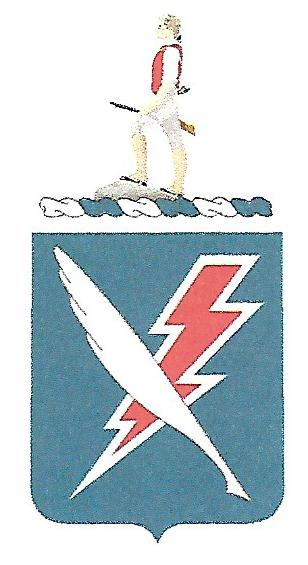 Arms of 678th Personnel Services Battalion, US Army