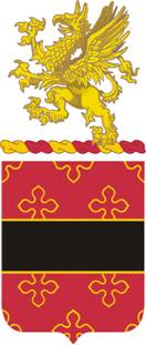 Arms of 182nd Field Artillery Regiment, Michigan Army National Guard