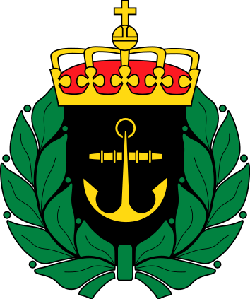 Coat of arms (crest) of the Sea Home Guard, Norway