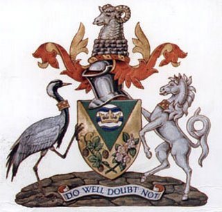 Arms (crest) of Tunbridge Wells