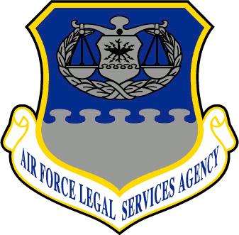 Coat of arms (crest) of the Air Force Legal Services Agency, US Air Force
