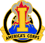 Arms of I Corps Armerica's Corps, US Army