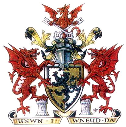 Arms (crest) of Denbighshire