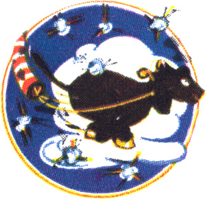 Coat of arms (crest) of the 15th Tow Target Squadron, USAAF