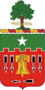 Coat of arms (crest) of the 5th Field Artillery Regiment, US Army