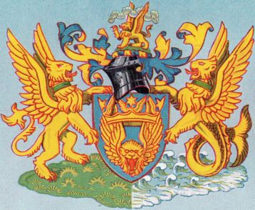 Arms of British Overseas Airways Corporation
