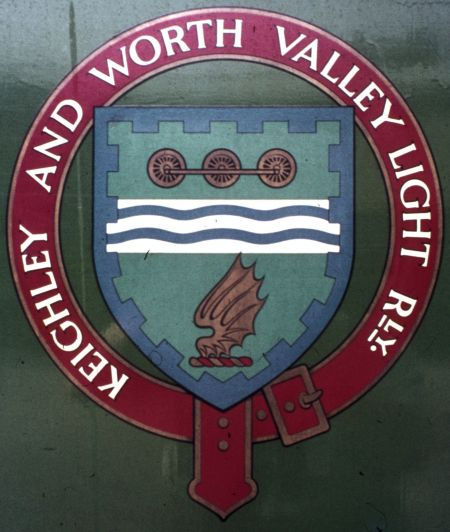 Arms of Keighley and Worth Valley Light Railway