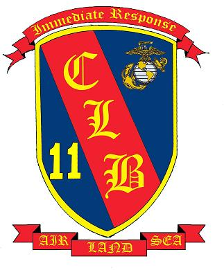 Coat of arms (crest) of the 11th Combat Logistics Battalion, USMC