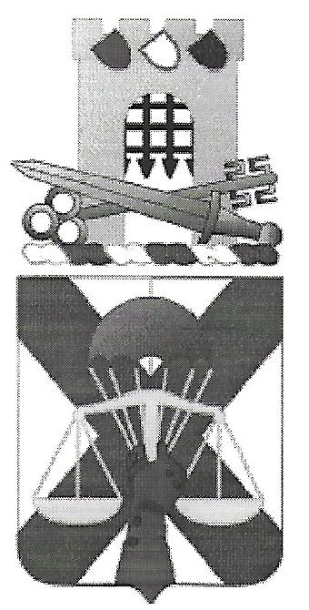 Arms of 10th Military Police Battalion, US Army