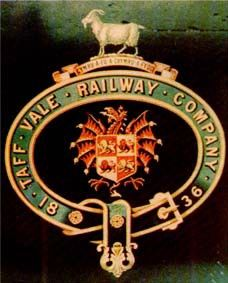 Arms of Taff Vale Railway