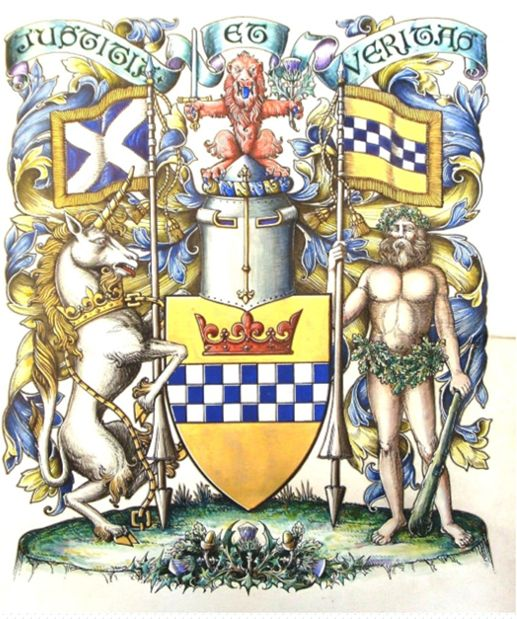 Arms of Stewart Society