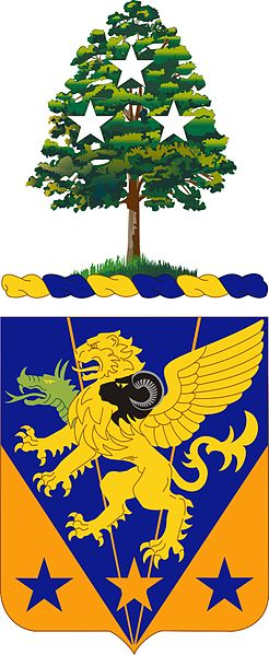 Coat of arms (crest) of the 107th Aviation Regiment, Tennessee Army National Guard