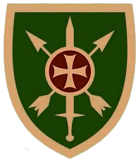 Coat of arms (crest) of the Special Operations Group, Georgia