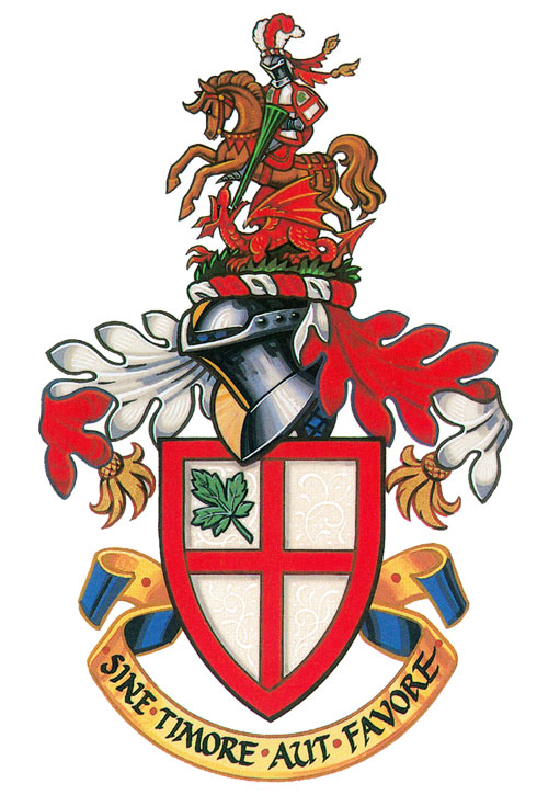 Coat of arms (crest) of St. George's School (Vancouver)