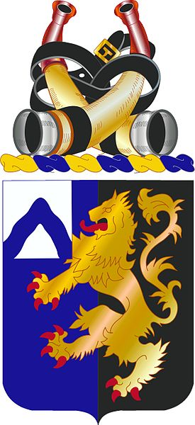 Coat of arms (crest) of the 48th Infantry Regiment, US Army