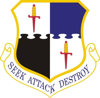 Coat of arms (crest) of the 52nd Fighter Wing, US Air Force