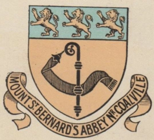 Arms (crest) of Mount St Bernards Abbey