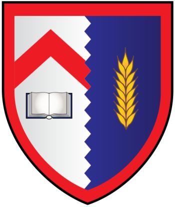 Arms (crest) of Kellogg College (Oxford University)