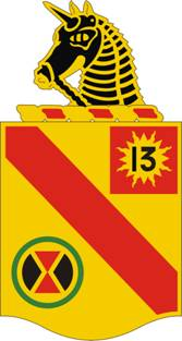 Arms of 79th Field Artillery Regiment, US Army