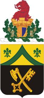 Coat of arms (crest) of the 81st Armor Regiment, US Army