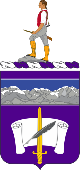 Arms of 440th Civil Affairs Battalion, US Army