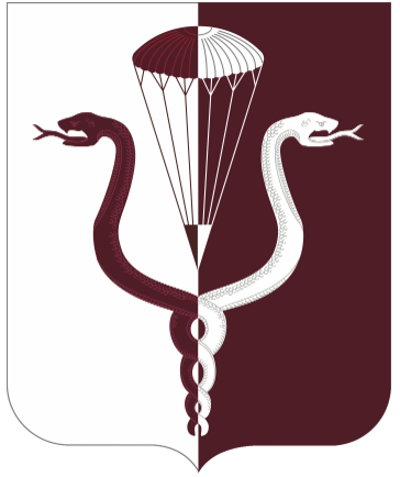 Coat of arms (crest) of the 11th Medical Battalion, US Army