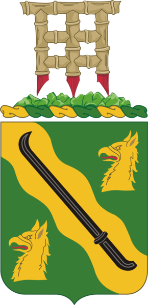 Arms of 95th Military Police Battalion, US Army