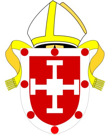 Arms (crest) of Diocese of Coventry