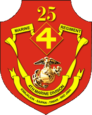 Coat of arms (crest) of the 25th Marine Regiment, USMC