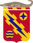 Coat of arms (crest) of the 256th Air Defense Artillery Regiment, Florida Army National Guard
