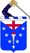 Arms of 104th Infantry Regiment, Massachusetts Army National Guard