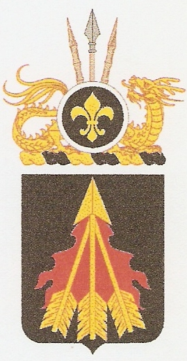 center Arms of 191st Ordnance Battalion, US Army