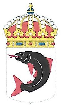 Coat of arms (crest) of the HMS Loke, Swedish Navy